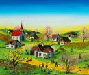 コワルスキー「春の村」